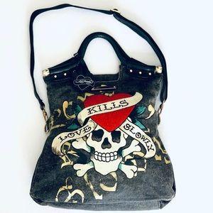 Ed Hardy Large Handbag